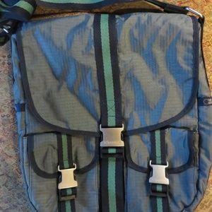 LeSportsac large gray crossbody bag nwot